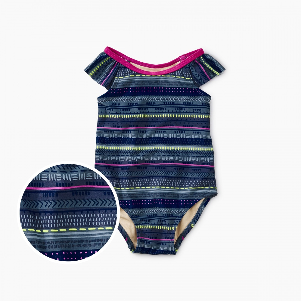 Printed Baby One-Piece