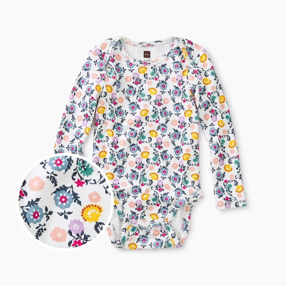 Lyrical Floral Bodysuit