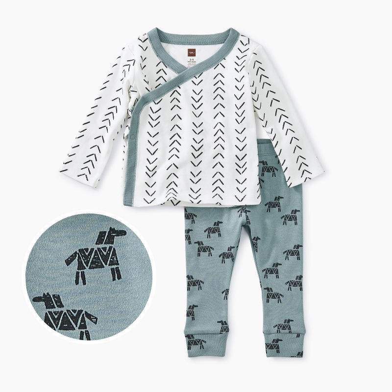 Wrap Top Baby Outfit