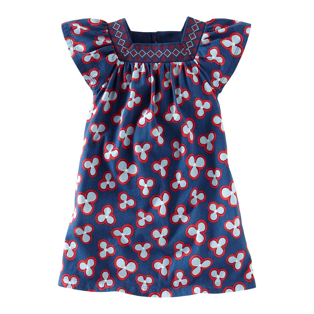 Tea Collection Baobab Blossom Mini Dress