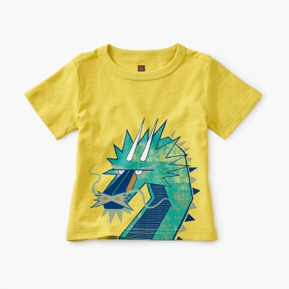 Tiptop Dragon Baby Graphic Tee