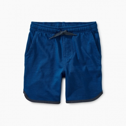 Piped Knit Shorts