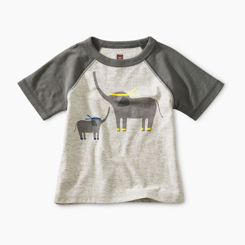 Martial Arts Elephant Baby Tee