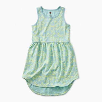 Printed Skirted Tank Dress