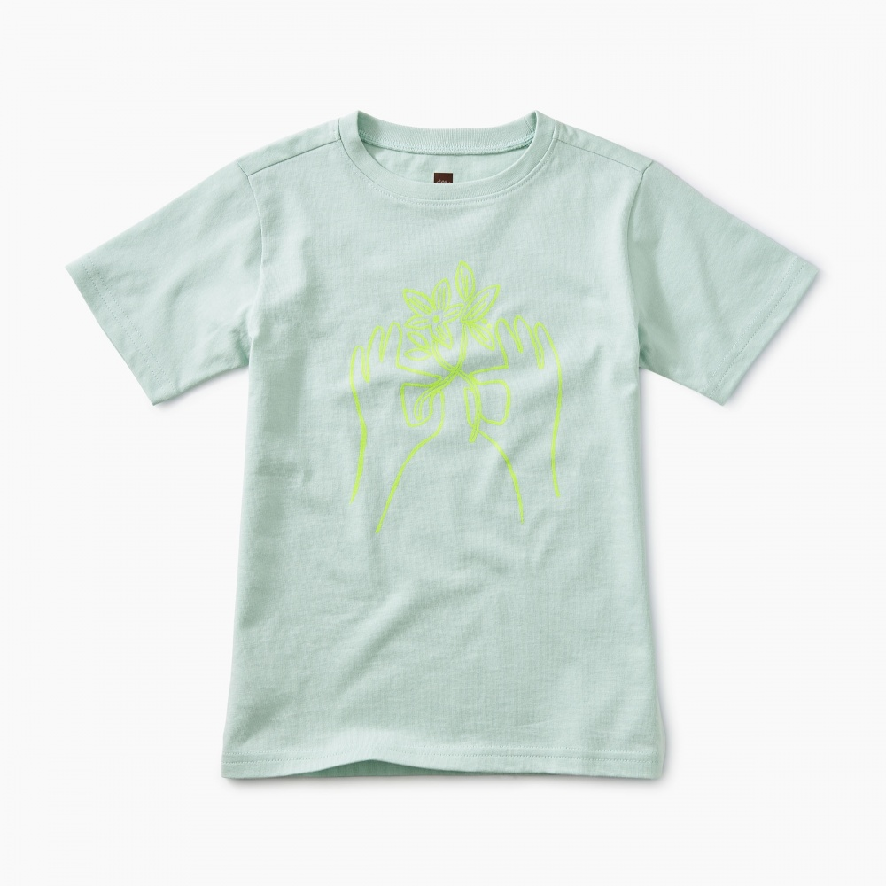 Peace Flower Graphic Tee