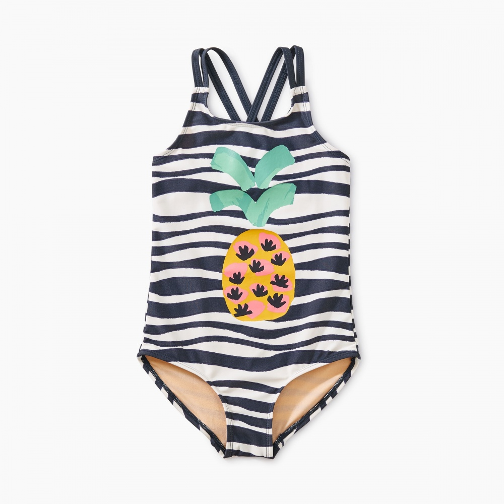 Strappy Pineapple One-Piece