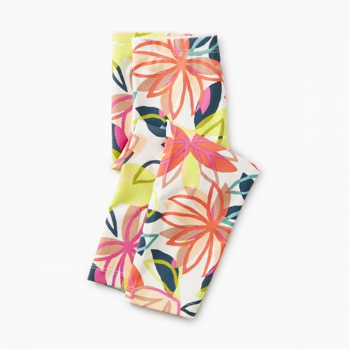 Big Blooms Baby Leggings