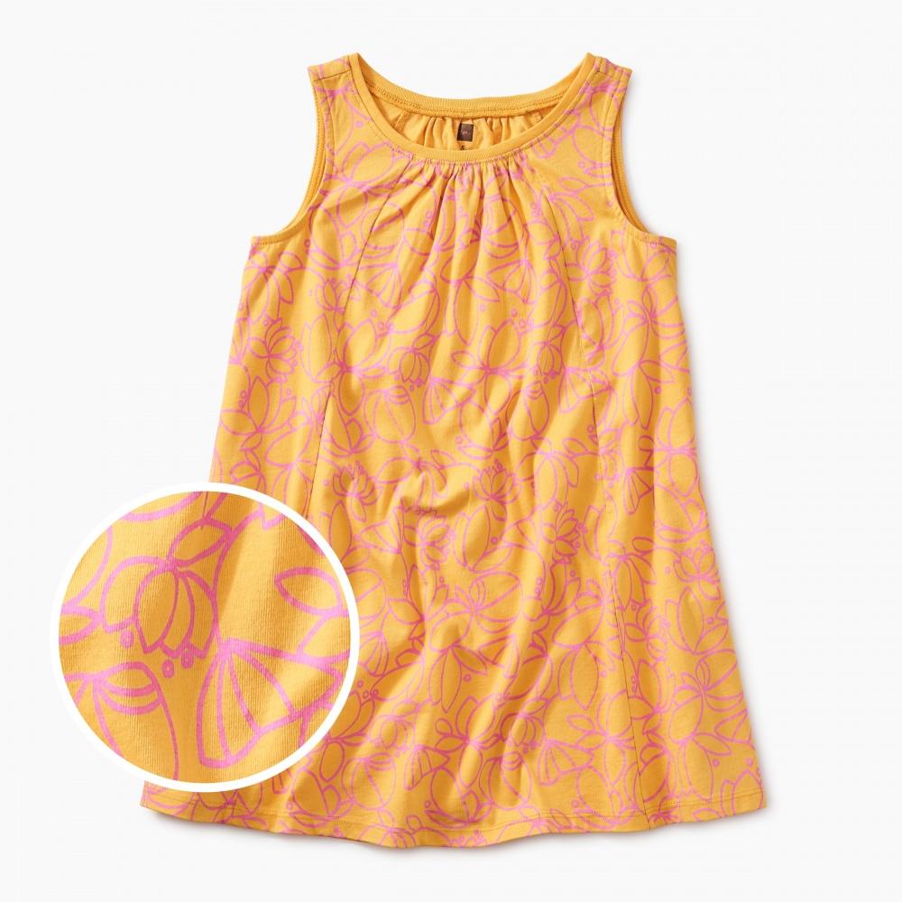 Printed Trapeze Dress