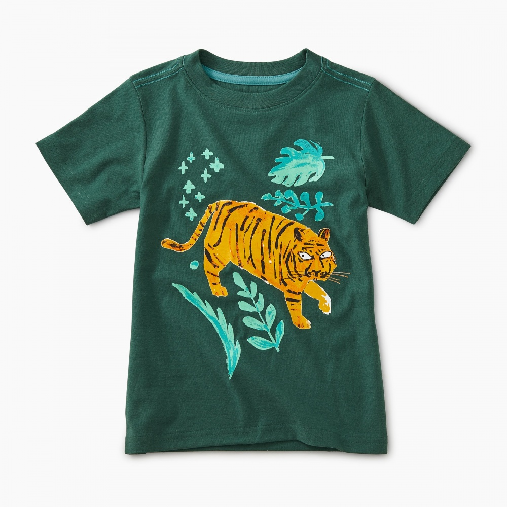 Jungle Tiger Graphic Tee