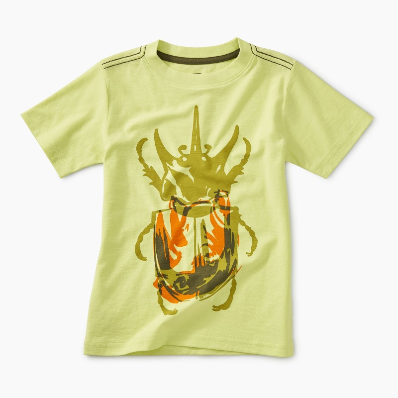 Rhino Beetle Graphic Tee