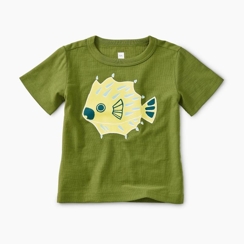 Puffer Fish Baby Graphic Tee