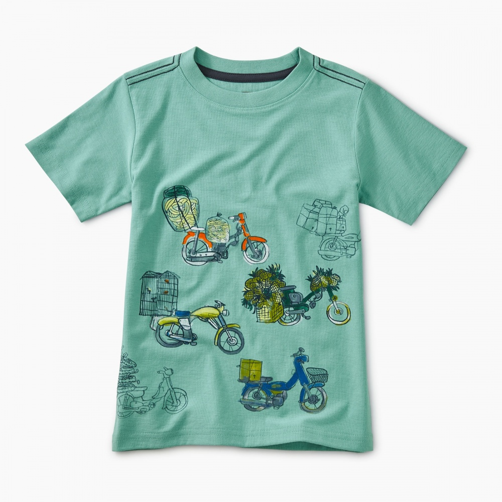 Scooter Traffic Graphic Tee