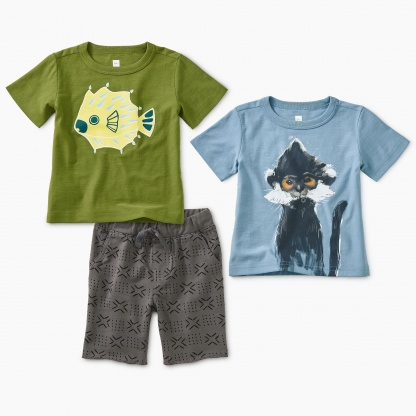 23c339c4b371 Baby Boy Outfits, Little Boy Outfits & Baby Boy Outfit Sets | Tea ...