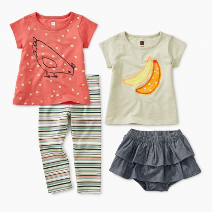 1d24d8604 Shop Our Baby Girl Leggings and Infant Leggings | Tea Collection