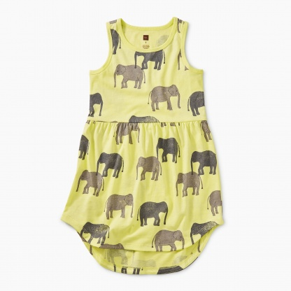 42c2ec0fc Printed Skirted Tank Dress Dresses; Multistripe Capri Leggings Leggings;  Butterflies & Blooms Set