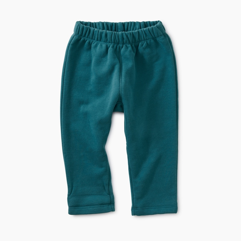 Dropped Gusset French Terry Pant