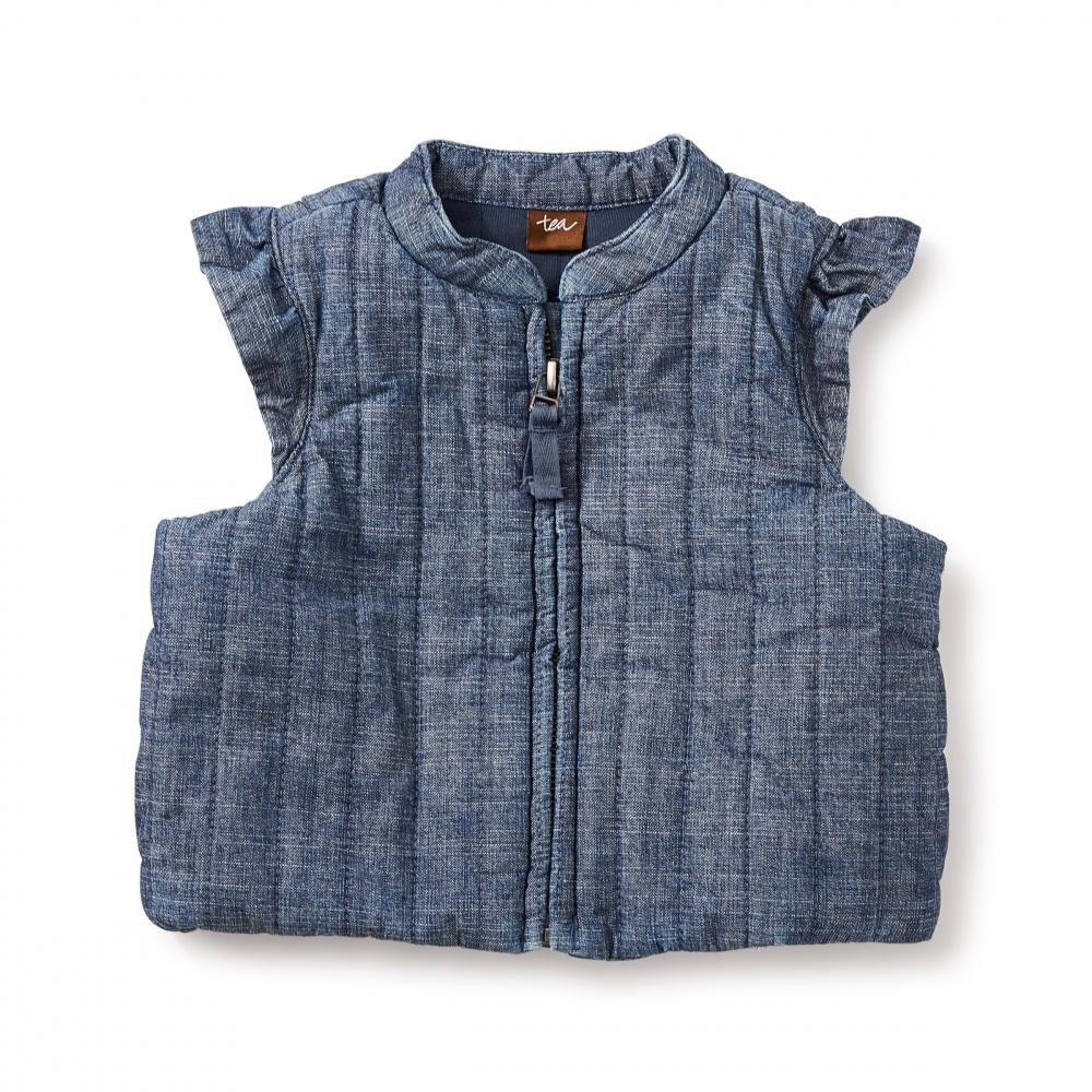 Citizen Chambray Zip Vest
