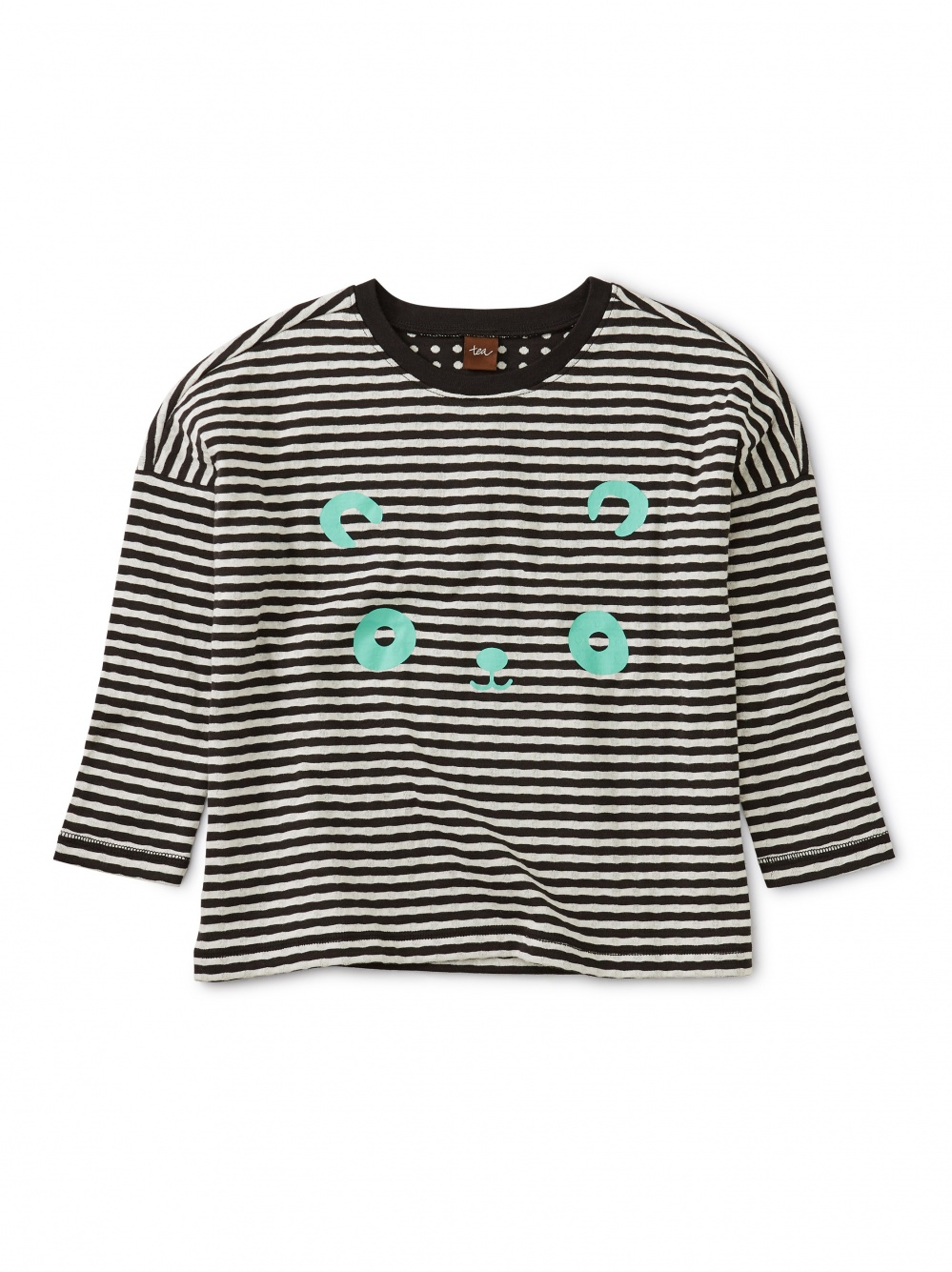 Panda Graphic Double Knit Top