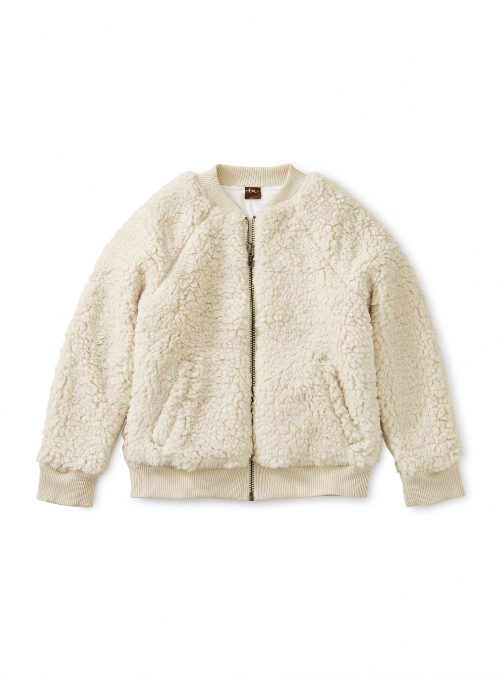 Sherpa Fleece Bomber Jacket