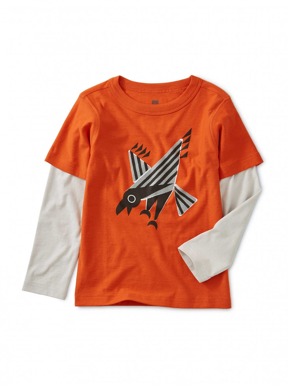 Raven-ous Graphic Layered Tee