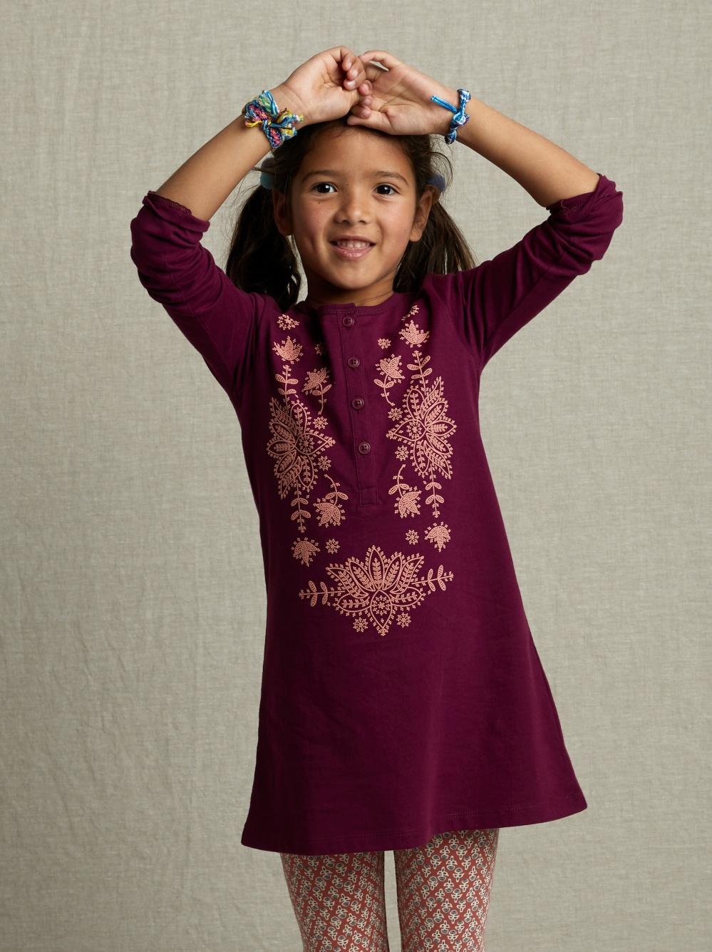 Henley Graphic Dress