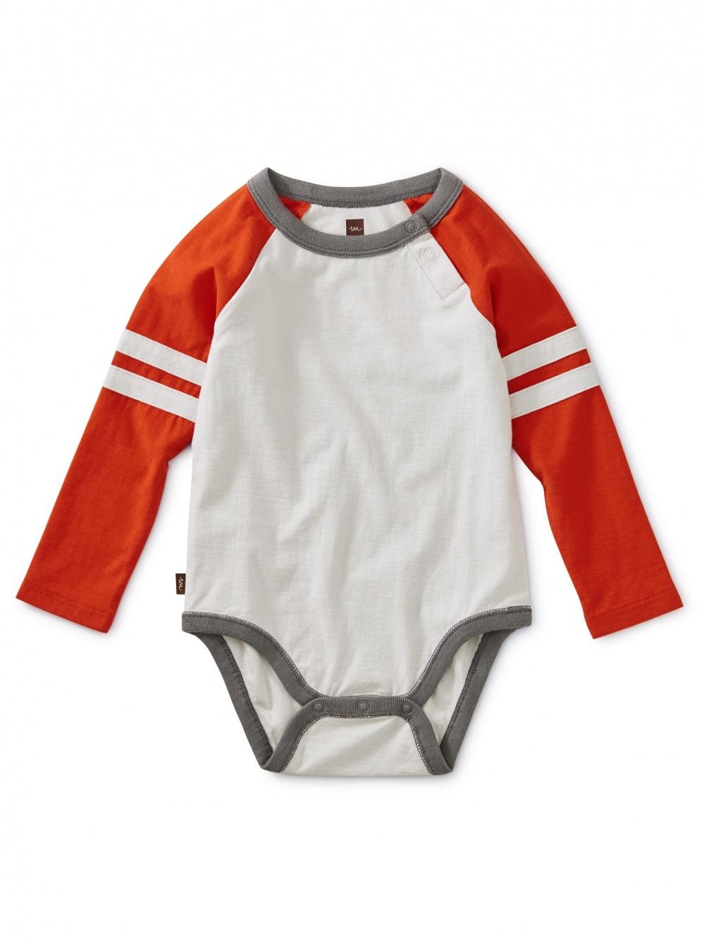 Explorer Colorblock Raglan Bodysuit