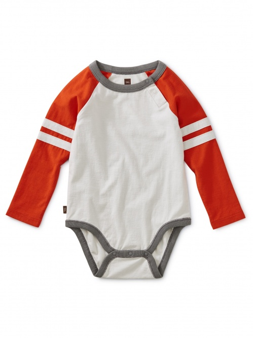 Explorer Colorblock Raglan Bodysuit