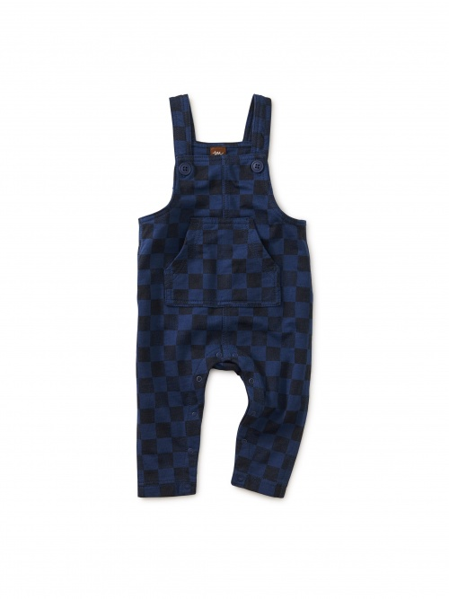 Printed French Terry Overall