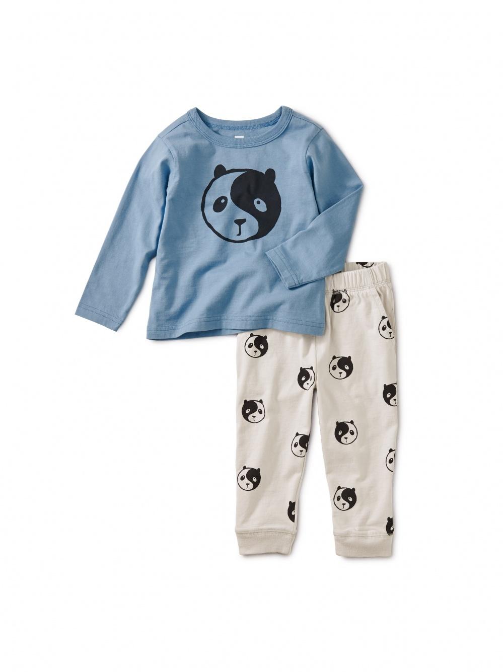 Yin Yang Panda Jogger Set