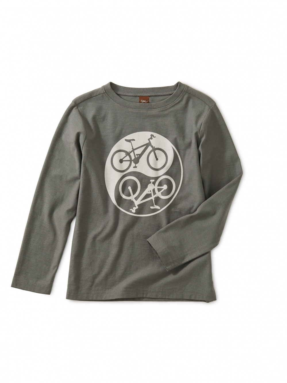 Yin Yang Bike Graphic Tee