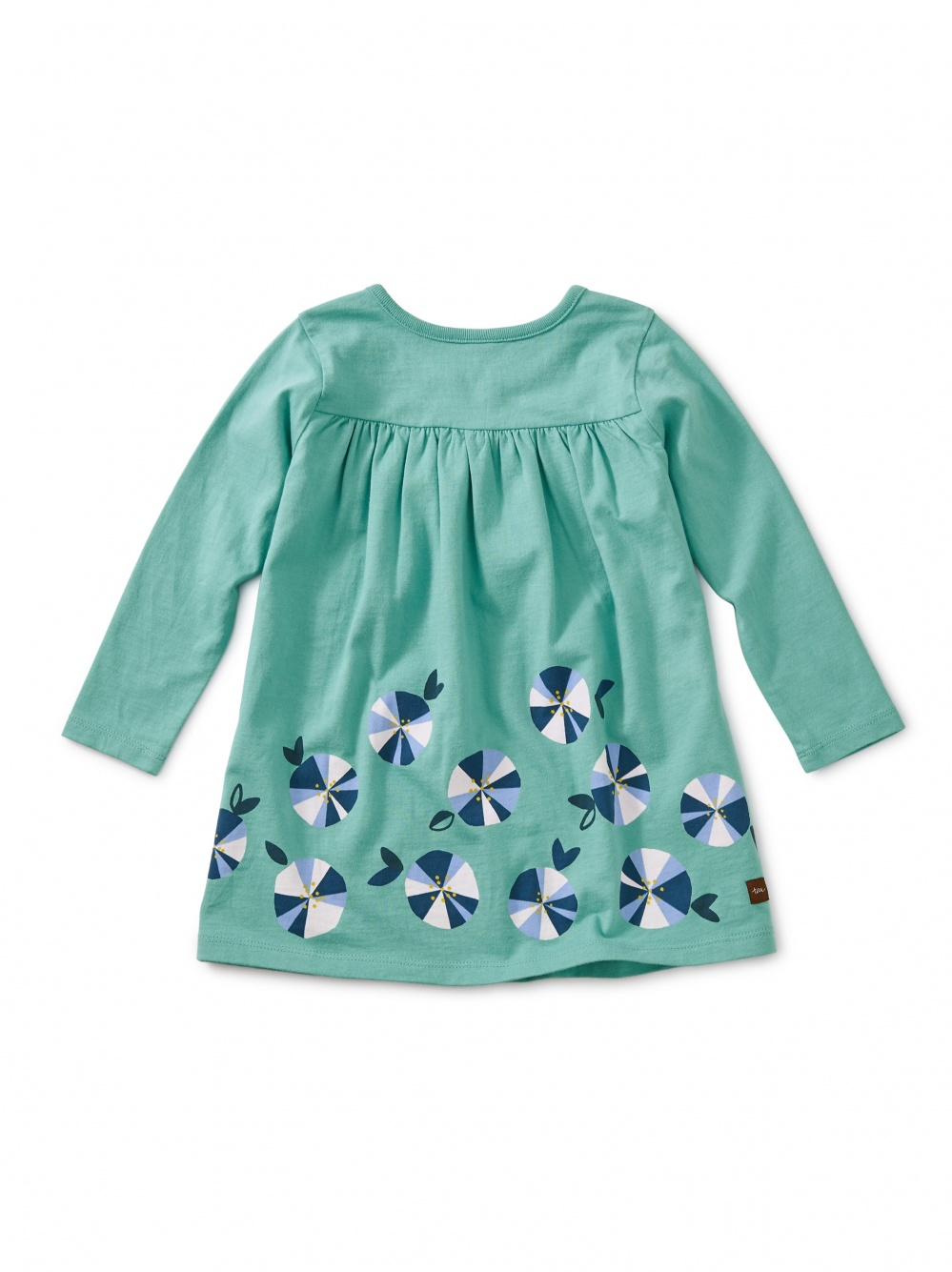 Rainbow Floral Graphic Baby Dress