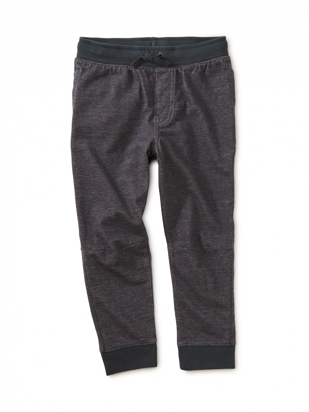 Denim-Like French Terry Joggers