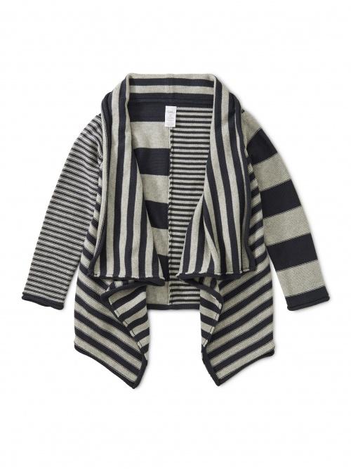 Tranquility Stripe Drapey Cardi