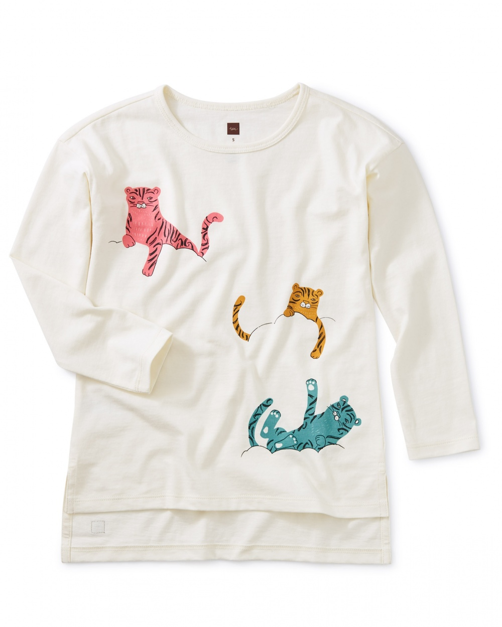 Cloud Tigers Graphic Tunic
