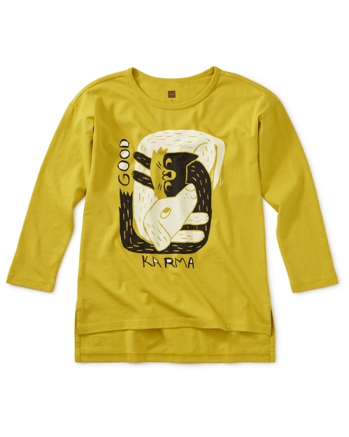 Good Karma Graphic Tunic