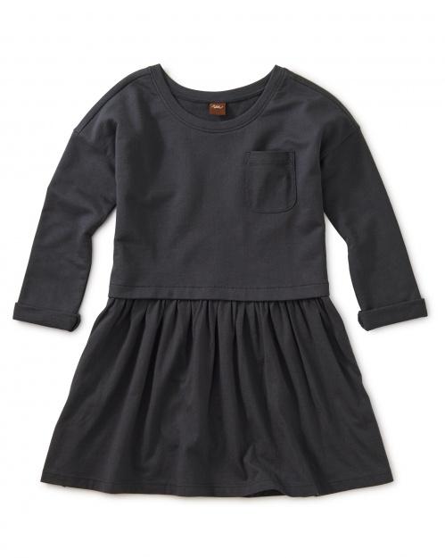Solid Pocket Play Dress