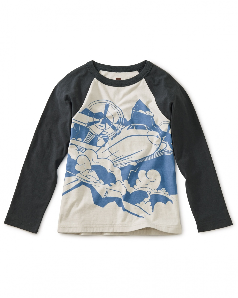 Turbo Prop Graphic Raglan Tee