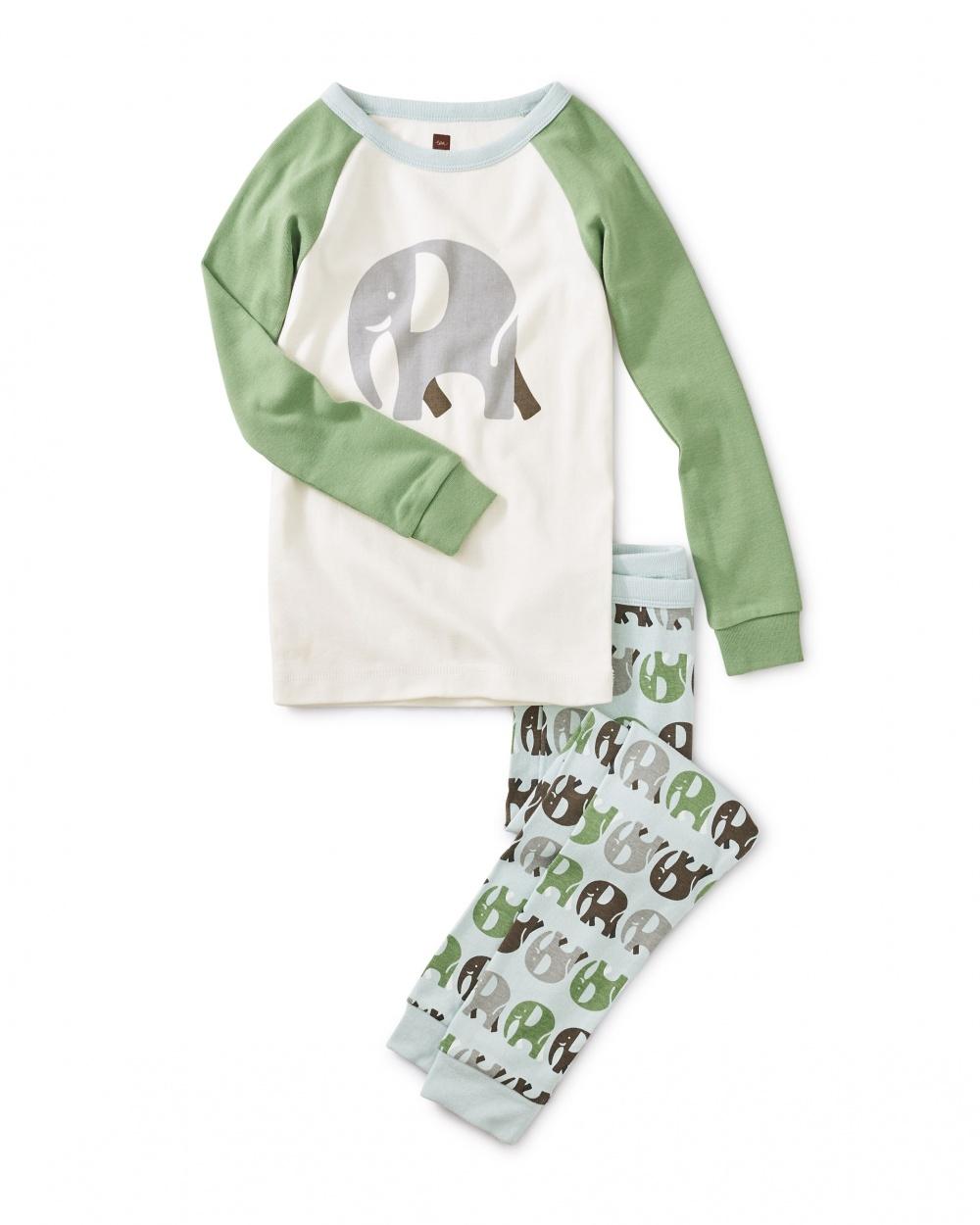 Elephant Raglan Pajamas