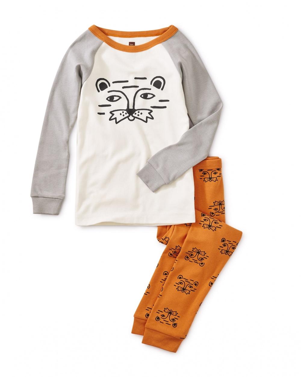 Lion Raglan Pajamas