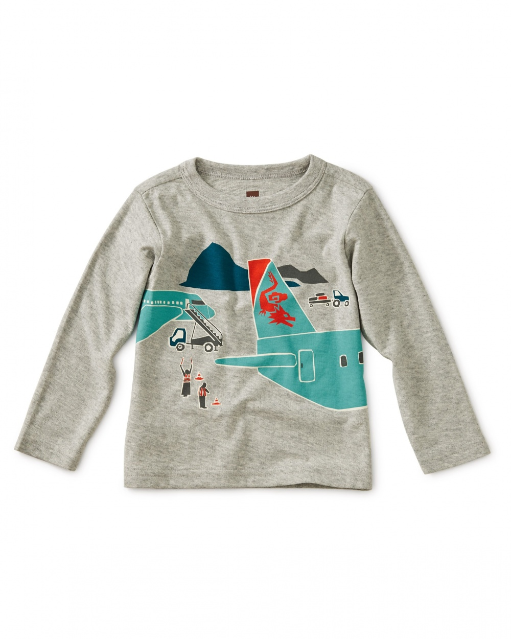 Plane Trip Graphic Baby Tee