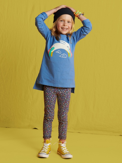 Hop to It Graphic Tunic
