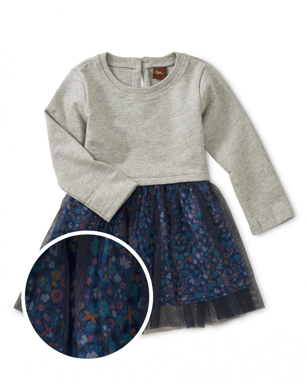 Tulle Skirted Baby Dress
