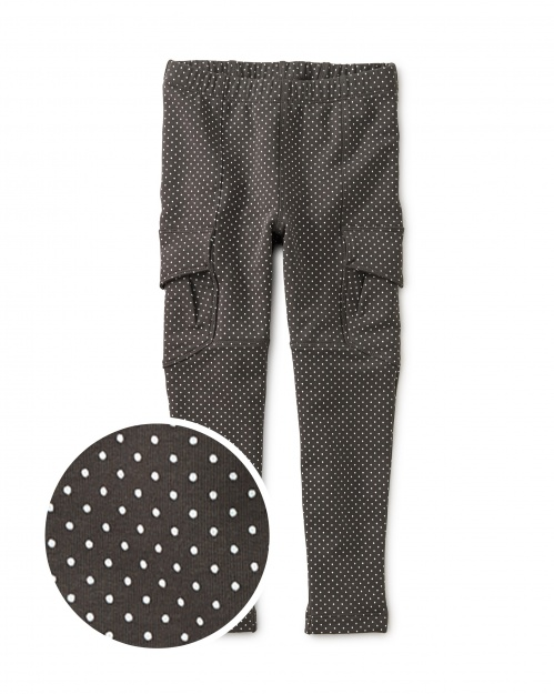 Pin Dot French Terry Cargos