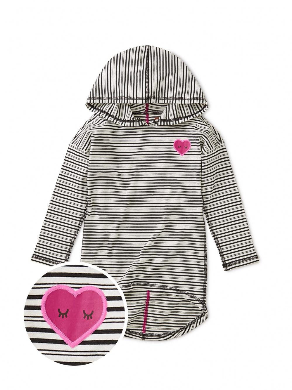 Heart Hi-Lo Pullover Hoodie