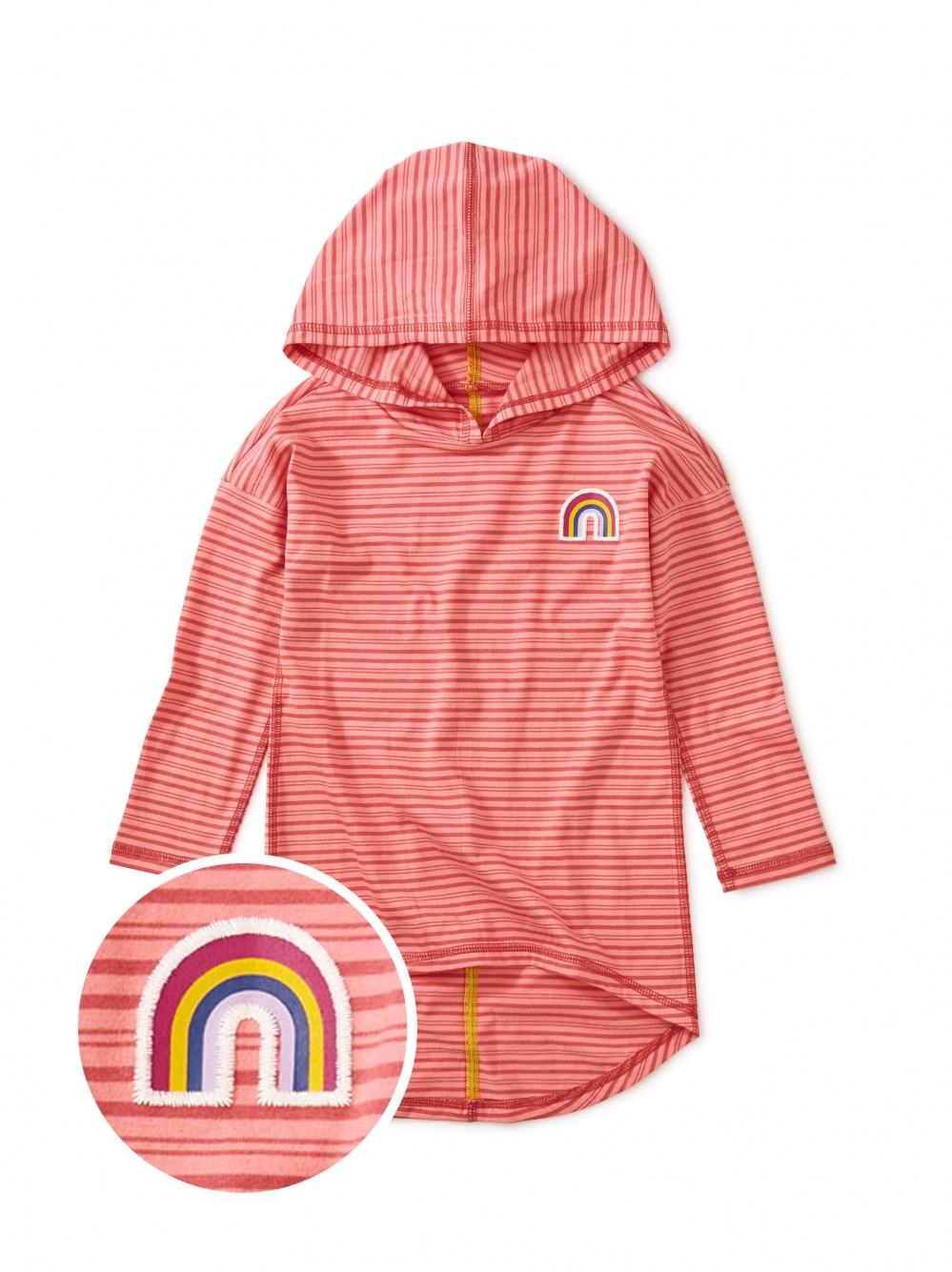 Rainbow Hi-Lo Pullover Hoodie