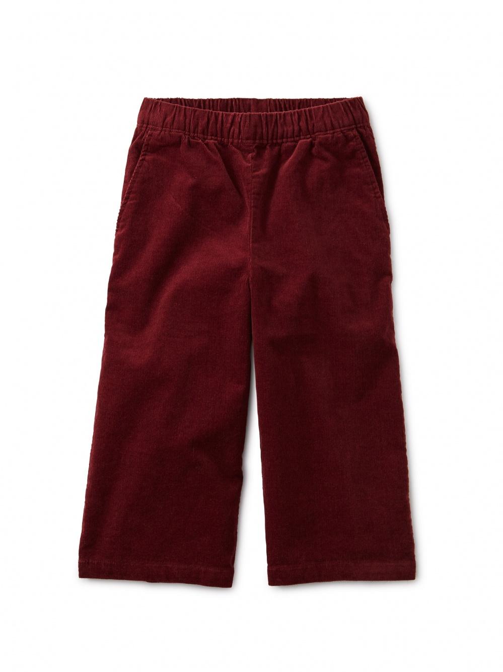 Corduroy Wide Leg Pant