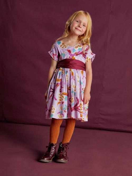 Sateen Sash Wrap Dress