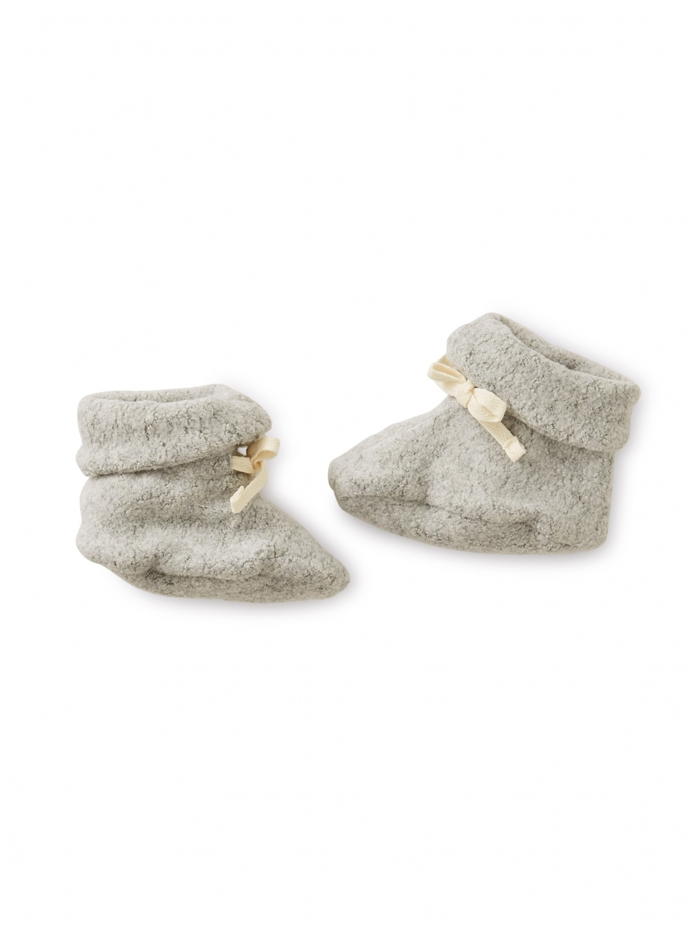 Sherpa Newborn Booties