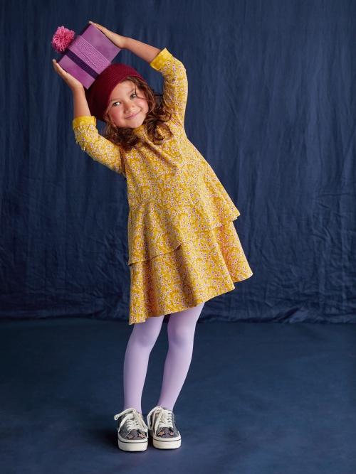 Tiered Peplum Dress