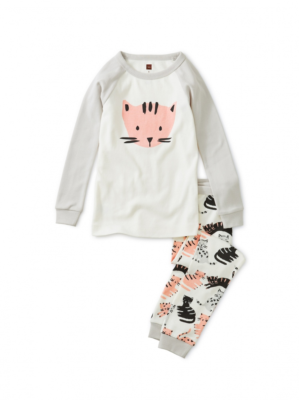 Cat Graphic Pajamas